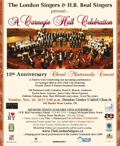 A Carnegie Hall Celebration Flyer, 8.5 x 11 inch format